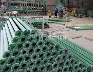 农田灌溉玻璃钢管道的优越性能